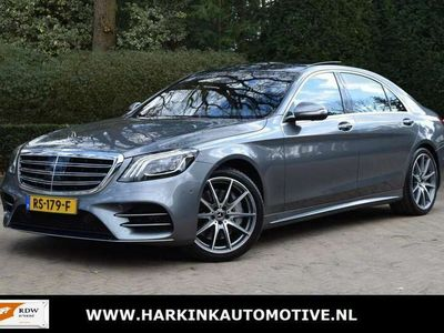 tweedehands Mercedes S400 400d 4Matic Lang AMG/ENTERTAINMENT/PANODAK
