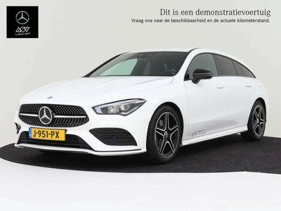 tweedehands Mercedes CLA200 Shooting Brake Advantage AMG MBUX Widescreen, LED-