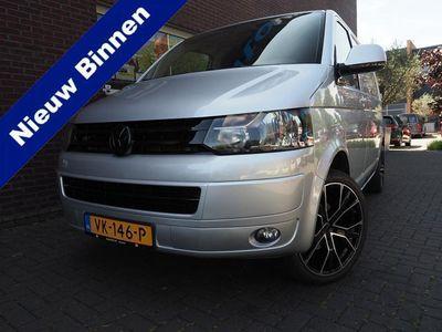tweedehands VW Transporter 2.0 TDI 180PK R-Line 3-Zit Leder Navigatie Airco Actie
