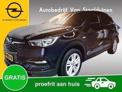 tweedehands Opel Grandland X 1.2 Turbo Online Edition Automaat 8-traps, Panoramadak, Navigatie, Climate Controle