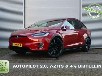 tweedehands Tesla Model X 100D 7p. Full Options, AutoPilot2.0, 71.900ex