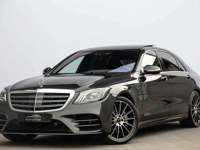 tweedehands Mercedes S400 400d Lang Premium Plus AMG Massage Distronic Pano