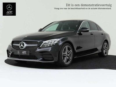 tweedehands Mercedes C180 Business Solution AMG-Line automaat Privacy glass,..