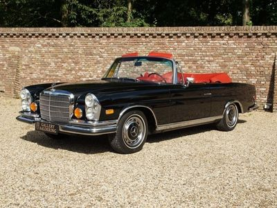 tweedehands Mercedes 280 3.5 Convertible 111.027 matching numbers only 1.232 made factory AC