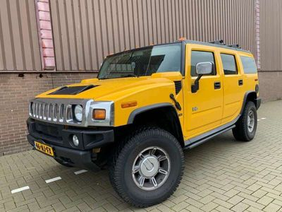 tweedehands Hummer H2 6.0 V8 2003 117000 Youngtimer Leer 4x4 Playstation
