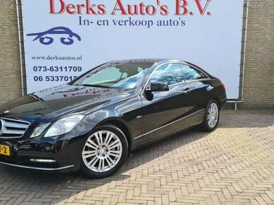 tweedehands Mercedes E220 Coupé CDI Avantgarde