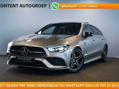 tweedehands Mercedes 220 CLA-Klasse Shooting Brake190pk 7G-DCT PANODAK I NAVI I AMG LINE