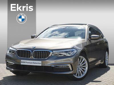 tweedehands BMW 520 5 Serie i Touring Aut. High Executive Luxury Line Trekhaak!