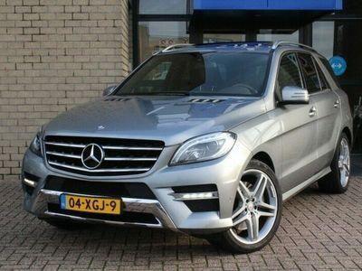 tweedehands Mercedes 350 M-Klasse4M AMG STYLING-SCHUIFDAK-LUCHTV.-MEMORY-DESIGNO-BI XENON-ZEER COMPL.