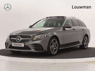 tweedehands Mercedes 200 C-Klasse EstateBusiness Solution AMG | Panoramadak, Digitale radio, Warmtewerend donkergetint glas | Uw voordeel € 5.464 inclusief gratis AMG-Line ! *Fietsvoordeel*