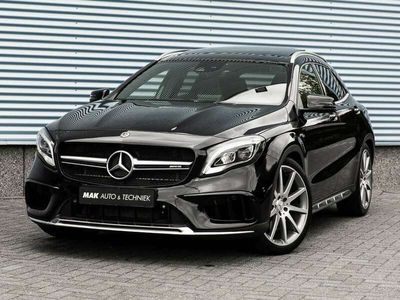 "tweedehands Mercedes GLA45 AMG AMG 4Matic, perf.stoelen, pano, driver's pack, 20"", de"