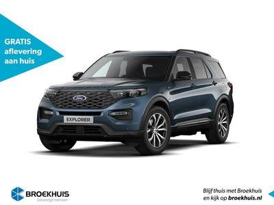 tweedehands Ford Explorer 3.0 V6 450 pk Plug-In Hybride ST-Line Nu nieuw te bestellen bij uw Broekhuis dealer!