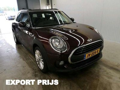 tweedehands Mini One Clubman 1.5 D Pepper *1/2LEDER+NAVI+PDC+ECC+CRUISE*