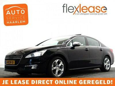 tweedehands Peugeot 508 2.0 HDi Premium Executive Hybrid4 Aut- Leer, Schui