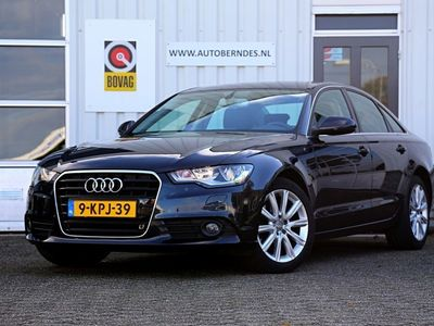 tweedehands Audi A6 3.0 TDI 6 Cilinder Automaat*NL-Auto*Perfect Onderh.*Navigatie/Parkeersens.V+A/Cruise-Control/18 inch LM/Airco*