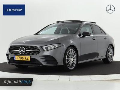 tweedehands Mercedes A250 AMG Automaat Panorama-schuifdak | Navigatie | AMG Styling | Night Pakket | Cruisecontrol | Stoelverwarming.