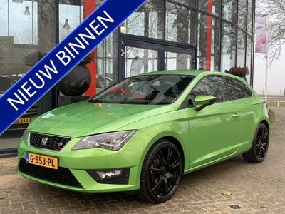 tweedehands Seat Leon SC 1.4 TSI FR Business | LED | Navigatie | Stoelverwarming | Climate control | Lane assist | SOUND | 19 inch