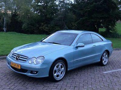 tweedehands Mercedes CLK240 Elegance 2003 automaat! Uniek! Leer! NAP! Cruise control