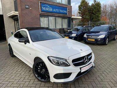 tweedehands Mercedes C200 Coupé AMG Line Premium Night 19 Inch! Panorama! 25