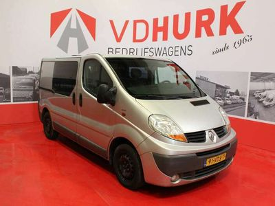 tweedehands Renault Trafic 2.0 dCi DC Dubbel Cabine Marge Auto Airco/PDC