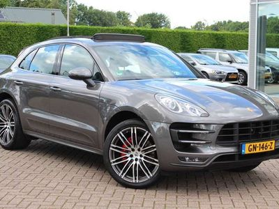 tweedehands Porsche Macan Turbo 3.6 / Panoramadak / Camera / Luchtvering / S