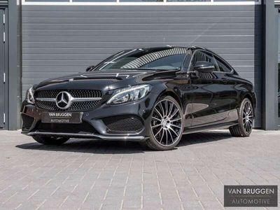 """tweedehands Mercedes C180 Coupé AMG Line   19"""", Camera, Navi, Stoelv"""