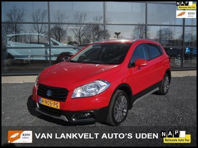tweedehands Suzuki SX4 S-Cross 1.6 Exclusive AllGrip Panorama dak, Keyless, ECC, 17 inch