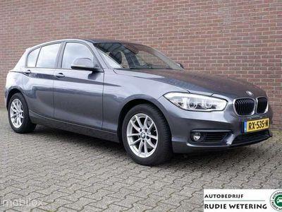 tweedehands BMW 118 1-SERIE i Automaat Executive led/nav/tel/ecc/pdc/lmv16
