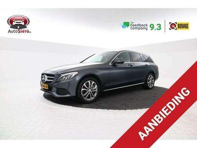 tweedehands Mercedes C350 Estate e Lease Edition Volleder, Navigatie, Climat
