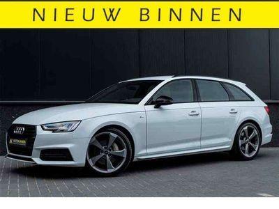 tweedehands Audi A4 3.0 TDI S-line 218PK Aut. Fijnnappa Comfort 3 zone