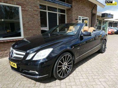 tweedehands Mercedes E250 Cabriolet CGI Elegance Automaat / leder / Navi