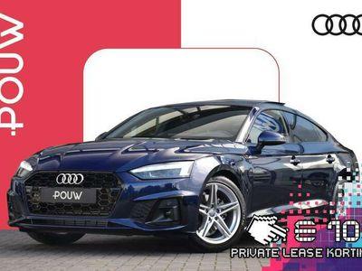 tweedehands Audi A5 Sportback 35 TFSI 150pk S-tronic S Edition + Zwart