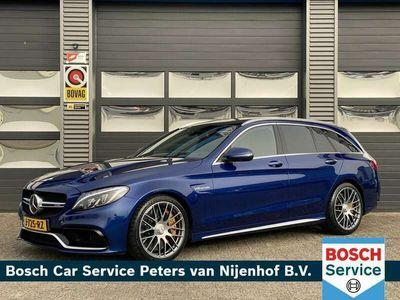 "tweedehands Mercedes C63 AMG AMG Estate S EDITION 1 510PK CERAMIC BURMESTER 19"" BTW"