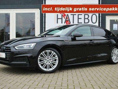 tweedehands Audi A5 Sportback 2.0TDi Black Edition Matrix Cam. Navi 19