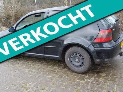 tweedehands VW Golf 1.6-16V Master Edition Sport Voor de handige jongen, zie omschrijving