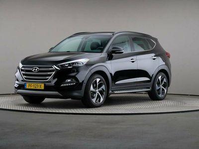 tweedehands Hyundai Tucson 1.7 CRDI Premium, Automaat, LED, Leder, Navigatie, Panoramadak
