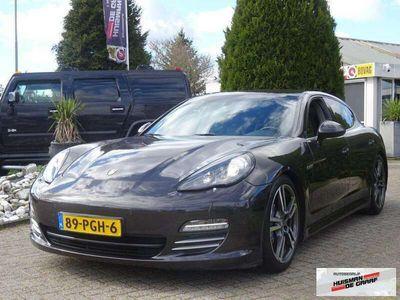 tweedehands Porsche Panamera 3.6 V6 2011 Sportchrono 4Wiel Luchtvering NL auto