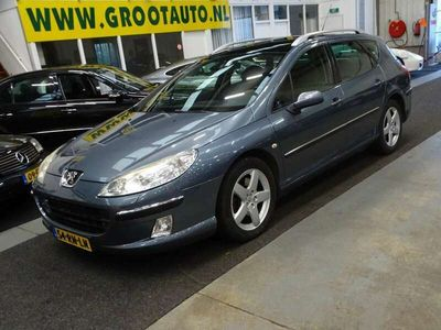 tweedehands Peugeot 407 SW 2.2-16V XT Automaat Airco, Cruise Control, Stuurbekrachti