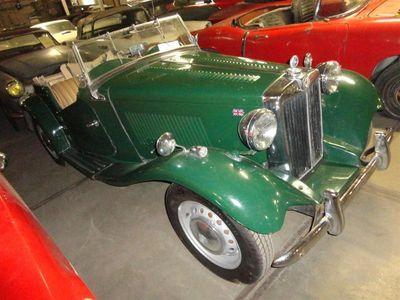 tweedehands MG TD -1953 green