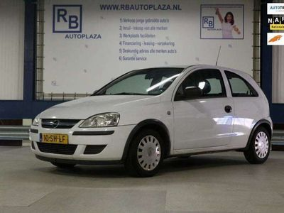 tweedehands Opel Corsa 1.2-16V Essentia APK 6-2021 / WHITE / LEES TEKST !