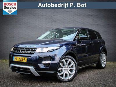 tweedehands Land Rover Range Rover evoque 2.2 SD4 4WD Prestige Panaromadak / Navigatie / 191PK
