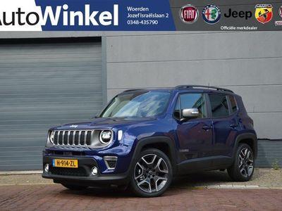 tweedehands Jeep Renegade 1.3T 150PK Automaat Limited Trekhaak 5jaar garanti