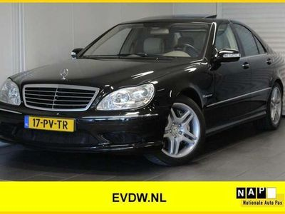 tweedehands Mercedes S55 AMG AMG Full Options,NL-Auto,Youngtimer