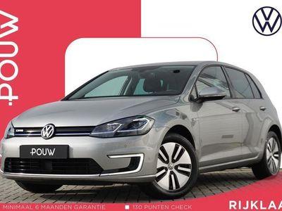tweedehands VW e-Golf 136pk AUT + € 21.450 Ex BTW + Adaptive Cruise Control + Navigatie