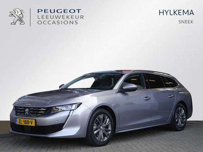 tweedehands Peugeot 508 Sw BLUE LEASE ALLURE 180PK EAT8 AUTOMAAT | FULL LED | KEYLESS ENTRY | ADAPTIEVE CRUISE CONTROL | CAMERA | DODEHOEK DETECTIE