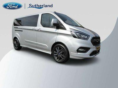 tweedehands Ford Custom TransitDUBBELE CABINE TDCi 185PK L2 SPORT **VOL!!/EXCLUSI