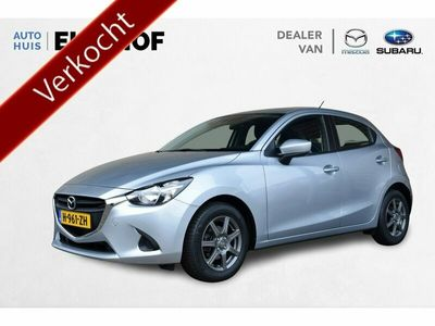tweedehands Mazda 2 1.5 Skyactiv-G TS Automaat Cruise control, Airco,
