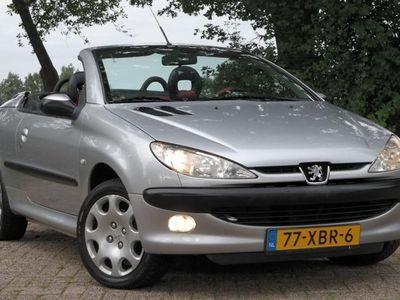 tweedehands Peugeot 206 CC 1.6-16V - Cabrio/Cabriolet - Elek. pakket - Leder - Inruil mogelijk