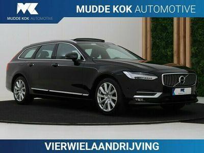 tweedehands Volvo V90 CC 2.0 D5 AWD Inscription | B&W | Panoramadak | A | Head-Up | Camera | Standkachel | Apple Carplay | Trekhaak