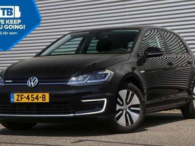 """tweedehands VW Golf e-Golf 136pk """"ex BTW"""" 17""""lm Virtual Cockpit Dynami"""